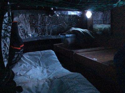 2ieme soirée dans ma foogiwagon van, il fait plus froid qu'hier