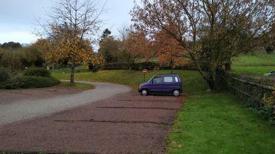 coin tranquille à Gonneville-sur-Mer, j'ai trouvé cette endroit grâce a l'appli park4night