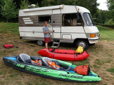 Sortie kayack et packraft sur les Haut de Villaine