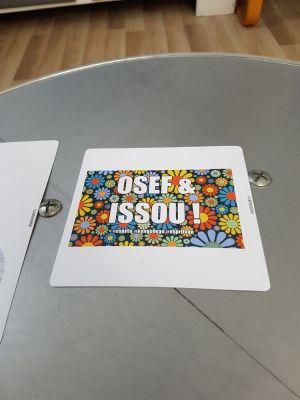 Petite photo des stickers créés par Kangoovan sur le site Redbubble