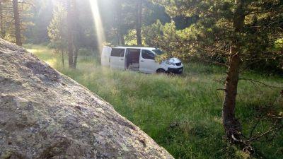 un rayon de soleil, de l'herbe jusqu'au passage de roue....la vie de don o'van !!!