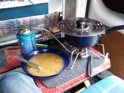 Une bonne soupe chinoise pour se réchauffer...