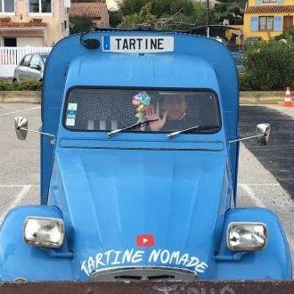 2CV camping-car - TARTINE NOMADE