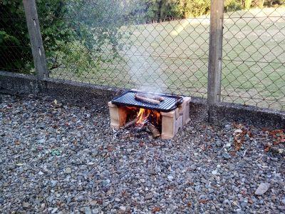 Pour une cuisine saine, la plancha au feu de bois...